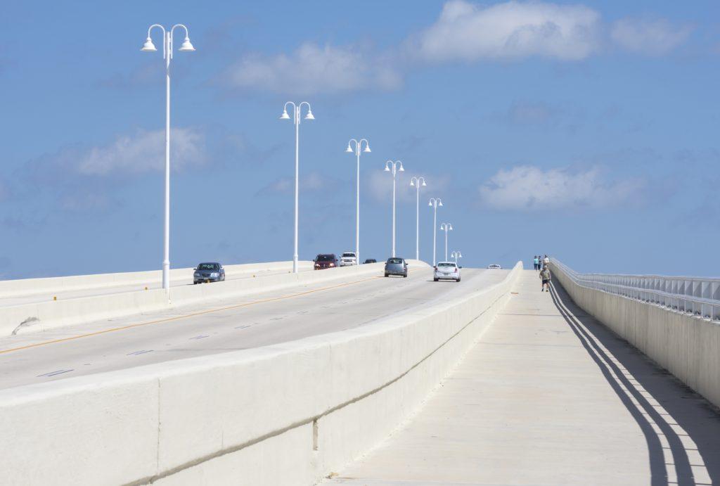 concrete bridge freeway